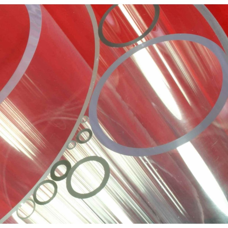 Clear Acrylic Tube 10mm OD 7mm ID (1.5mm Wall) x 1 metre length