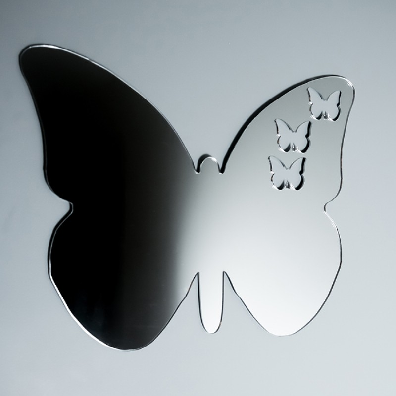Acrylic Mirrored Butterfly Shape