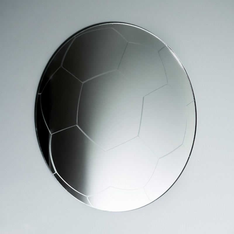 Acrylic Mirrored Football Shape